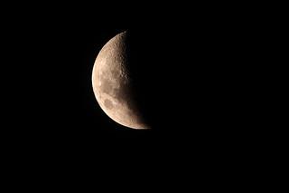 Half moon....