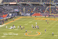 Solider Field (K14) Tags: chicago solider field 美式足球 橄欖球 芝加哥 軍人 球場