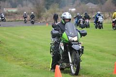 IMG_2409 (jcravens) Tags: motorcycle bikes motos offroad clinic class gravel wet grass mud bmw klr usa washington pnw
