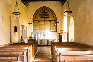 The beautiful and ancient St Johns Church, Waxham