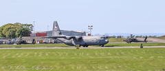 15748 USAF C130 - DYESS (Dougie Edmond) Tags: plane airplane aircraft airport egpk