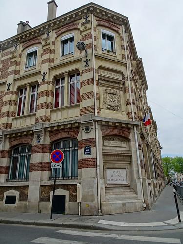 Paris 15ème Rue Ginoux École communale