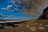 All the colours of the rainbow (moonshinepix) Tags: coastline rainbow reculver seascapes
