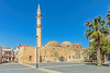 The Ottoman mosque (PhredKH) Tags: canonphotography fredkh photosbyphredkh phredkh splendid ottomanmosque mosque square townsquare rethymno coastaltown crete greekisland islandofcrete outdoorphotography 2470mm ef2470mmf4lisusm canoneos5dmarkiii bluesky sky trees tower scenic historic ancient building architecture picturesque