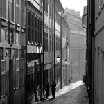 Alley in the morning light thumbnail