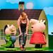 Peppa Pig's Adventure -Geroge Pig, Daisy (Bronte Tadman) and Peppa Pig (c) Dan Tsantilis