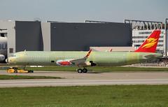 Capital Airlines, Reg.??????, MSN 8336, Airbus A 321-200(SL), 04.05.2018,  XFW-EDHI, Hamburg-Finkenwerder (henrykkonrad) Tags: msn8336 capitalairlines airbus a321 xfwedhi hamburgfinkenwerder konradhenryk