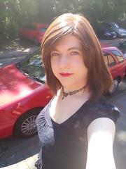 Keep out of direct sunlight (Joanne (Hay Llamas!)) Tags: transgender shemale genderfluid genderqueer tg brunette tgirl gurl cute uk brit british britgirl joanne hayllamas casual selfie