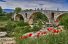 Old Bridge and Poppies, Provence France (swissukue) Tags: oldbridge provence france poppies sonya9 europe landscape