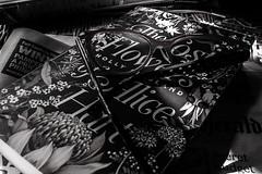 ..the lost flowers of.. (dawn.tranter) Tags: dawntranter thelostflowersofalicehart hollyringland novel blackwhite monochrome stilllife