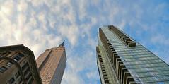 up (poludziber1) Tags: ny nyc new york manhattan usa america architecture building travel urban city skyline colorful sky blue