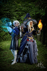 Fotocon 2017: Ailiroy and Rose & Prince Cosplay as Astrologian and Alphinaud Leveilleur from Final Fantasy XIV, by SpirosK photography (SpirosK photography) Tags: alphinaudleveilleur finalfantasy finalfantasyseries finalfantasyxiv cosplay finalfantasycosplay fotocon fotoconbytechland fotocon2017 fotoconbytechland2017 portrait game videogamecharacter videogame blue ff14 ffxiv finalfantasy14 mage magic wizard spell spellbook battle monsters spells ailiroy astrologian