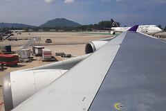 HS-TGX and HS-TGW B747-400 Thai (JaffaPix +5 million views-thanks...) Tags: hstgx hstgw b747400 b747 747 boeing jumbo b744 tha tg thai davejefferys jaffapixcom flight airline aircraft maikhaobeach aeroplane phuketairport phuket airplane flying aviation airliner vtsp hkt jaffapix