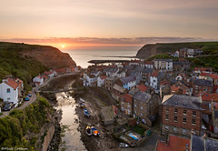 Staithes Sunrise (Cottee4) Tags: staithes northyorkshire northyorkshiremoors staithessunrise scarborough fishingvillage staithesvillage