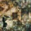 night changes . . . 2 (YvonneRaulston) Tags: europe venice italy night girl lady woman figure umbrella gold rain raindrops wet shower door window light atmospheric art artistry bokeh creativeartphotography calm colour creative city dream dusk digitalart digital emotive evening texture peaceful person surreal sony soft street vignette vintage vibrant mysterious