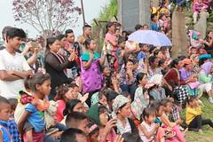Spectators of Mon village festival. Mon DC, Nagaland, India (n1ck fr0st) Tags: spectators mon village festival dc nagaland india
