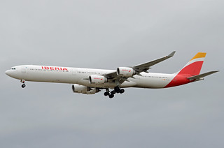 Iberia Airbus A340-642 EC-LEV