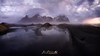 DIU_64 (jpmfotografianocturna) Tags: largaexposicion estaesislandia islandia iceland lovesislandia stokksnes montaña charco reflejos playa luznatural amanecer nubes clouds sun sol beach paisaje landscape nikon nikonistas filtros lucroit vanguard