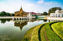 Bang Pa-In Royal Palace Ayutthaya Thailand-16a (Yasu Torigoe) Tags: