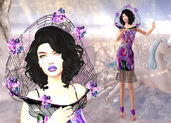 LuceMia - Swank Event (2018 SAFAS AWARD WINNER - Favorite Blogger - MISS ) Tags: swankevent secondlife sl new mesh exclusive creations event blog beauty byrne almamakeup fashion lips hair fireligth marcia dress collar wild spring destiny models lucemia