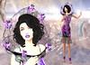 LuceMia - Swank Event (MISS V♛ ITALY 2015 ♛ 4th runner up MVW 2015) Tags: swankevent secondlife sl new mesh exclusive creations event blog beauty byrne almamakeup fashion lips hair fireligth marcia dress collar wild spring destiny models lucemia