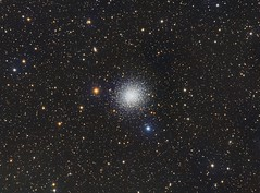 M13 - The Great Cluster in Hercules (Paddy Gilliland @ Image The Universe) Tags: m13 globular cluster hercules ngc ic space nebula nebulae stars night astro astronomy astrophoto astrophotography ap lrgb rgb hubble cosmos texture abstract outdoor wide widefield nighttime sky dark colours astrometrydotnet:id=nova2603420 astrometrydotnet:status=solved