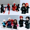 Marvel Love (Letgoofmylego) Tags: quicksilver spiderman benreillyscarletspider spidercarnage venom carnage blackwidow natasharomanoff bucky wintersoldier scarletwitch magneto marvel comic lego minifig minifigures customs