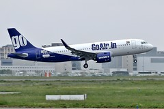 GoAir Airbus A320neo VT-WGO (Planes Spotter And Aviation Photography By DoubleD) Tags: goair airlines india indian liner jet plane aircraft planes aviation airbus neo a320 a320neo profile winglets landing lfbo france toulouse french spotter spotters spotting canon eos