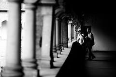 Old walls (Black&Light Streetphotographie) Tags: mono monochrome menschen menschenbilder people personen leute trier tiefenschärfe wow dof fullframe gesicht vollformat streets streetshots streetshooting