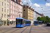 Variobahn 2315 an der Grillparzerstraße (Frederik Buchleitner) Tags: 2315 linie19 munich münchen swagen stadler strasenbahn streetcar tram trambahn variobahn