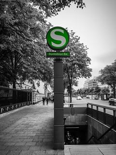 Berlin, Metrostation Brandenburger Tor.