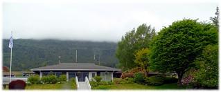 Port Alice Fire Hall & Municipal Office - 1 (of 3) - Sony DSC-HX300