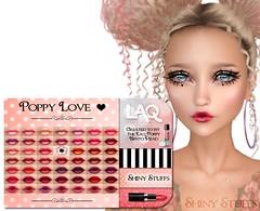 NEW! Poppy Love LAQ Appliers (Tarani Tempest) Tags: shinystuffs secondlife laq