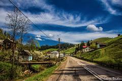 A road in Transylvania (Roberto Bendini) Tags: romania canon sibiu brasov transylvania bucovina maramures europa europe easter
