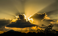 View from the Window (Keith Mulcahy) Tags: hongkong keithmulcahy sonya7r3 blackcygnusphotography clouds rays sky sunrise yuenlong
