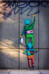 Os Gemeos (Paul Leb) Tags: artderue boston massachusetts usa streetart arteurbano osgemeos gustavo otavio pandolfo brésil brazil murale mural