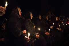 Pray (silvia pasqual) Tags: romania maramures easter pray candles light women beauty people person tradition traditional culture reportage documentary photo travel travelling fotocult darkness night