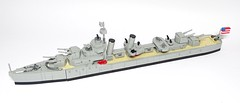 Porter-class US Navy Destroyer 1:200 scale LEGO model (LuisPG2015) Tags: