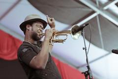 Jazz Fest 2018 - Trumpet Mafia - Maurice Brown