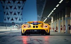 GT. (Alex Penfold) Tags: ford gt new 2018 yellow supercars supercar super car cars autos alex penfold yas marina uae abu dhabi