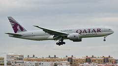 Boeing 777-FDZ I A7-BFM I Qatar Airways Cargo (Gustavo H. Braga) Tags: qatar qatarairways qatarairwayscargo aviation airplanes airport aviação aviacao aviao aeronaves aeroporto boeing b777 b777f