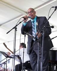 Dr. Michael White at the New Orleans Jazz and Heritage Festival on Sunday, April 29, 2018