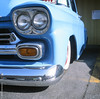 Chevy Truck (Carrot Room) Tags: mediumformat c330 velvia mamiya 120film fujifilm tlr