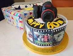 Not a pancake lens! (SteveJM2009) Tags: birthday cake camera sponge icing delicious april 2018 stevemaskell explored