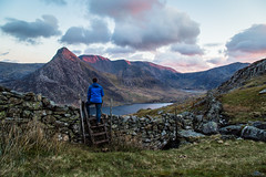 Up and over (A Crowe Photography) Tags: snowdonia snowdonianationalpark tryfan wales welshflickrcymru welshphotography welshlandscape canon6d northwales cymru