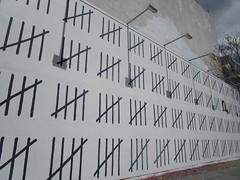 Free Zehra Dugan Wall - Banksy Houston St Mural 0636 (Brechtbug) Tags: free zehra dugan wall counting days banksy sidewalk painting graffiti arts downtown manhattan 04292018 new york city 2018 nyc art artist artwork silhouette anonymous brit british english uk united kingdom residency mystery houston street mural near bowery