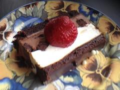 Chocolate Dessert for You 💕💕💕💕 (Mr. Happy Face - Peace :)) Tags: chocolate foodart2018 layered cake berry hmm marcomondays theme