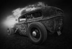 RatRod II (DARK-style) Tags: car hotrod ratrod rotten rusty old monochrom blackwhite bw sw schwarzweis darkstyle darkstylepictures darkstylereloaded ramstyle ramstylepictures nikon