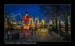 Leuchtturm / lighthouse Museumshafen Oevelgönne