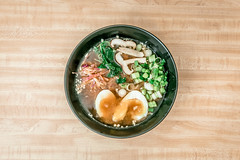 Food Photography - Miso Ramen (Katherine Ridgley) Tags: chef cook cooking kitchen bowl soup ramen noodle onion egg softboiledegg mushroom greenonion spinach miso noodles onions eggs mushrooms greenonions counter wood misosoup misoramen food foodie foodporn delicious warm softboiled softboiledeggs meal presentation home dinner mealprep mealpreparation homecooking asian asianfood japanese japanesefood